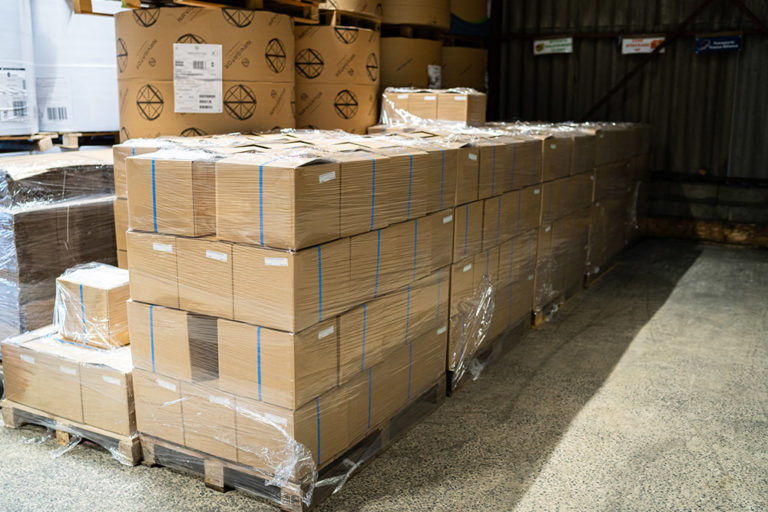 Logistique de vos imprimés Groupe Renard Imprimerie et Services