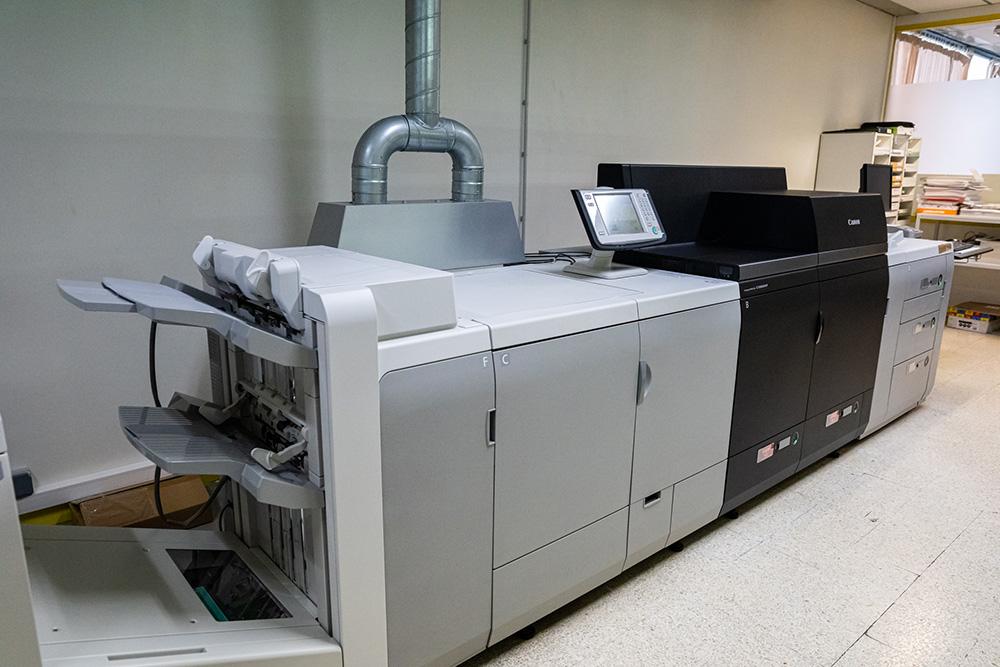 Imprimante numérique imprimerie Renard