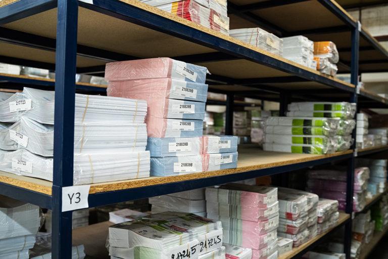 Stockage de vos imprimés Groupe Renard Imprimerie