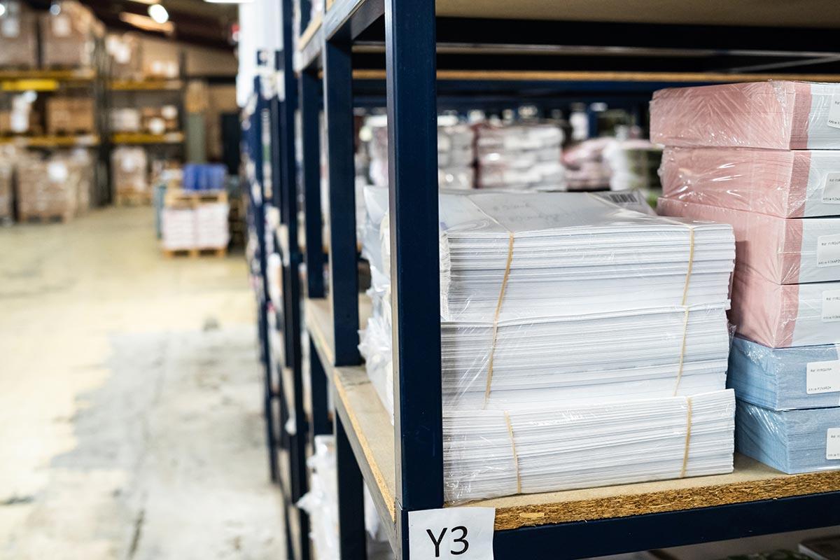 Stockage et logistique au Groupe Renard
