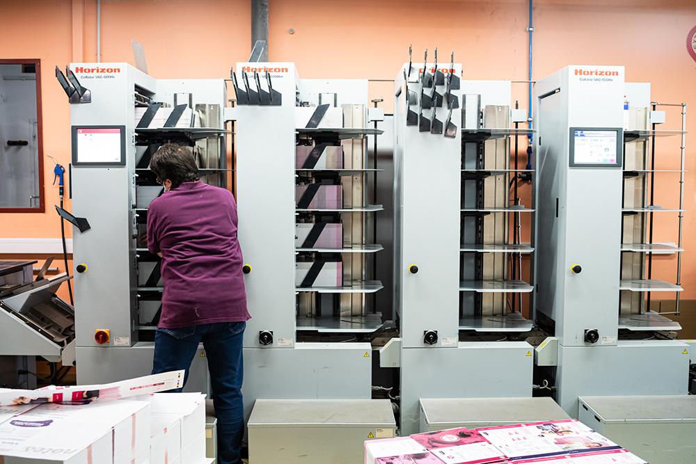 Tour assembleuse Imprimerie Renard